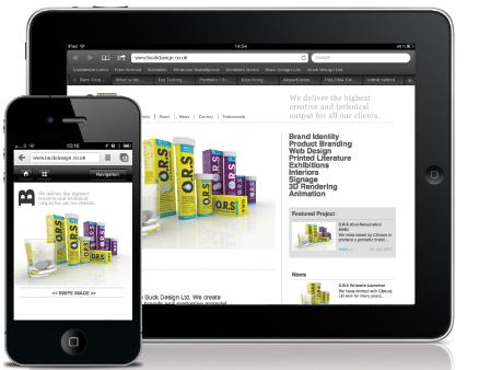Buck Design Iphone and Ipad