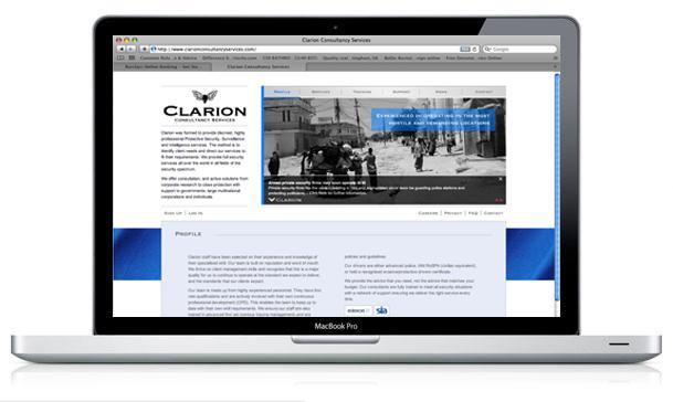 Clarion Website