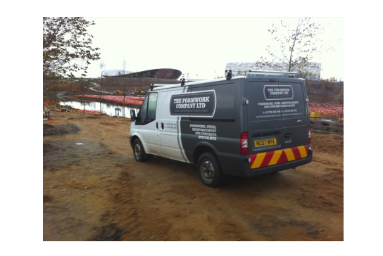 Formwork Company Van