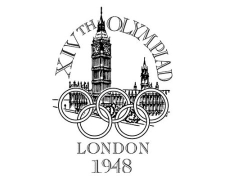 London 1948 Olympics logo