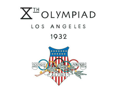 Los Angeles 1932 Olympics logo