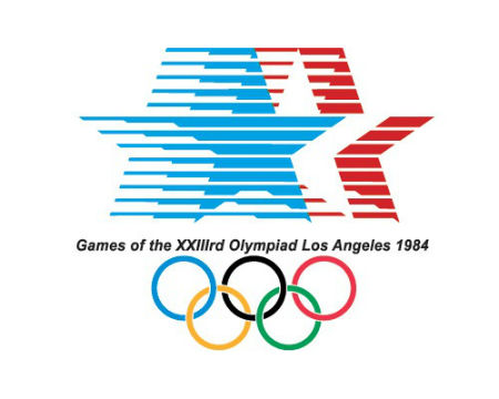 Los Angeles 1984 Olympics logo