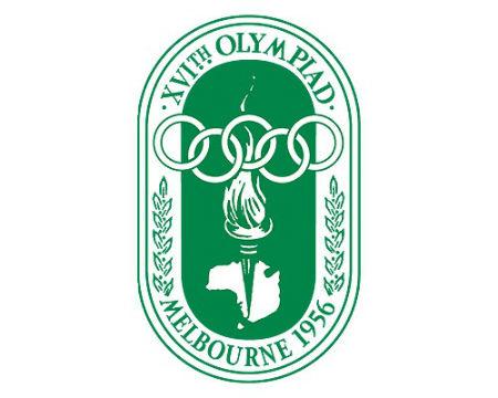 Melbourne 1956 Olympics logo