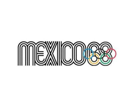 Mexico 1968 Olympics logo