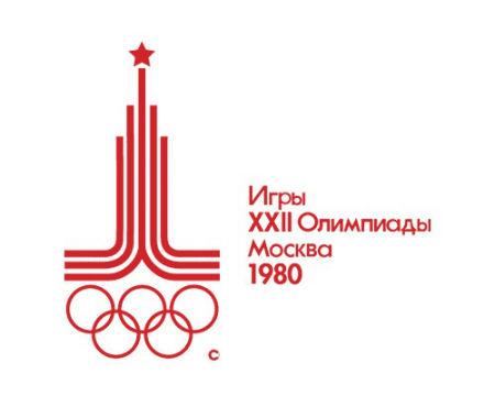 Mosco 1980 Olympics logo