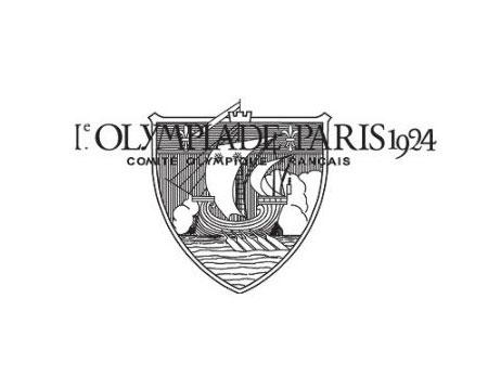 Paris 1924 Olympics logo