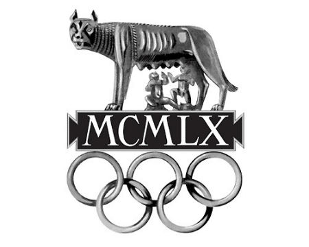 Rome 1960 Olympics logo